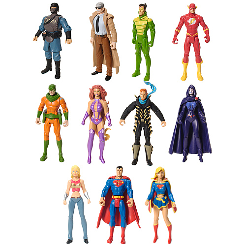 DC Infinite Heroes 3-Pack Wave 2 Revision 1 Case