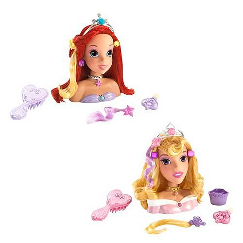 Disney Princess Style to Go Mini Styling Head Wave 1 Set