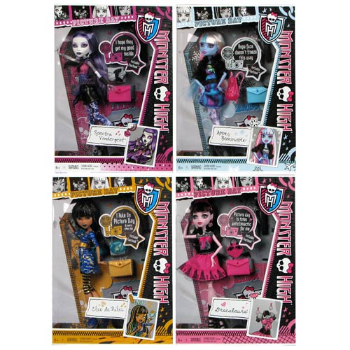 Monster High Doll Assortment Wave 10 Revision 1 Case