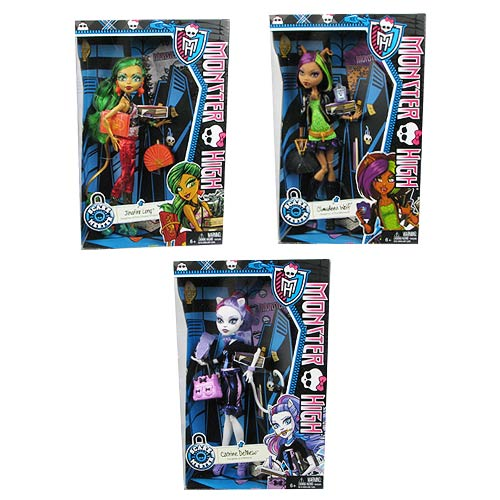 Monster High Scaremester Wave 1 Doll Case