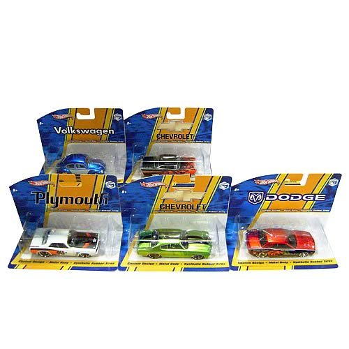 Hot Wheels 1:50 Scale Vehicles Wave 2 Case