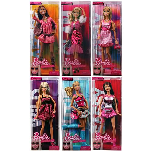 Barbie Fashionistas Dolls Case