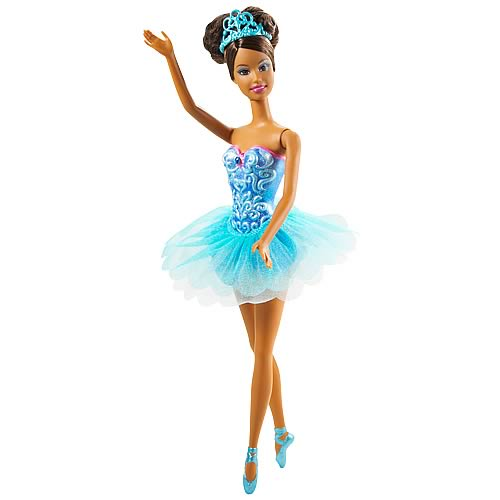 Barbie Blue Ballerina Doll (African American)