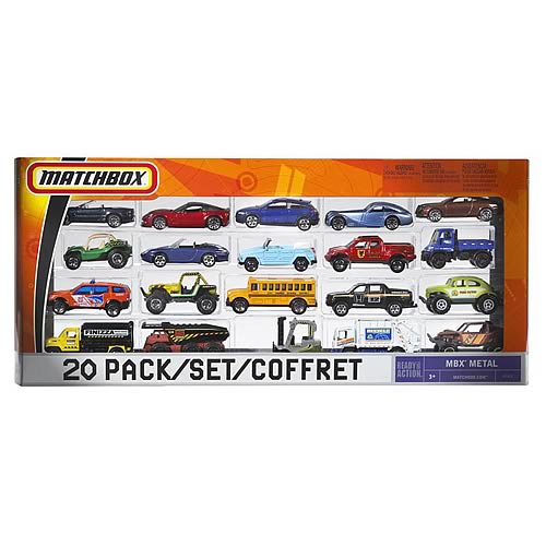 Matchbox 20 Pack Vehicles Wave 1