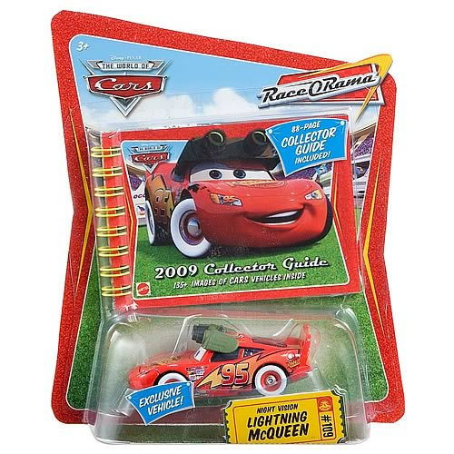 Pixar Cars Collector Guide with Lightning McQueen