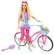 Barbie Beach Party Doll With Bicycle