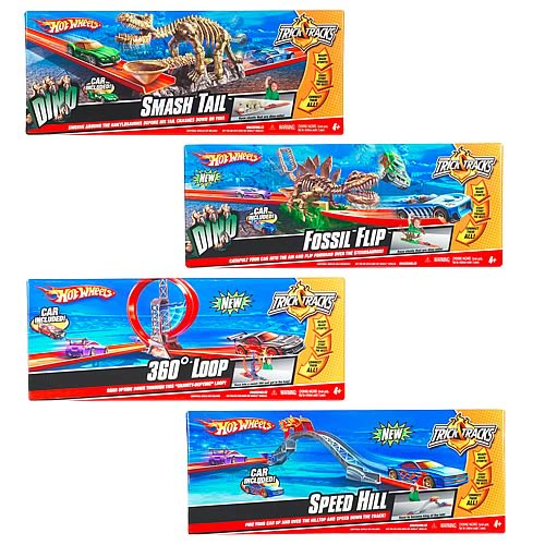 Hot Wheels Trick Tracks Wave 2 Assortment Set