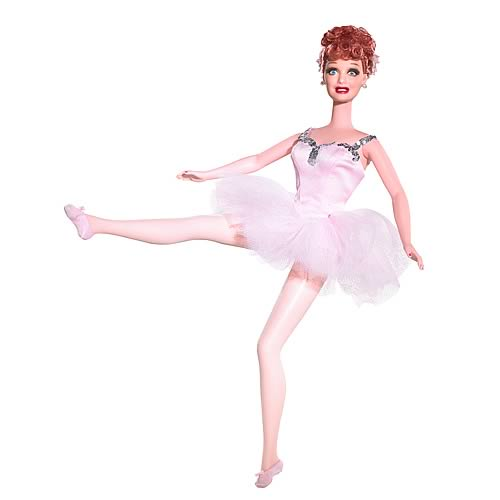 I Love Lucy Ballet Barbie Doll