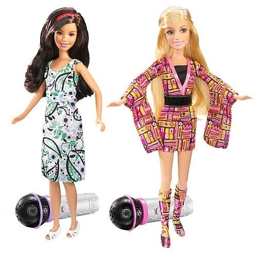 High School Musical 3 Sing Together Dolls Wave 1 Set