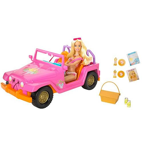 Barbie Beach Party Cruiser Vehicle