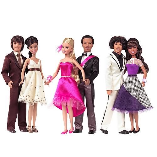 High School Musical 3 Prom Date Dolls Wave 1 Rev. 1