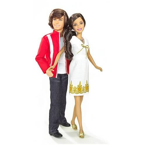 High School Musical 3 Troy And Gabriella Treehouse Dolls