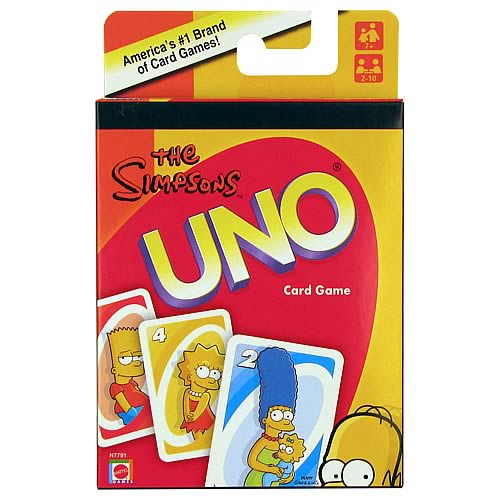 Simpsons UNO Card Game