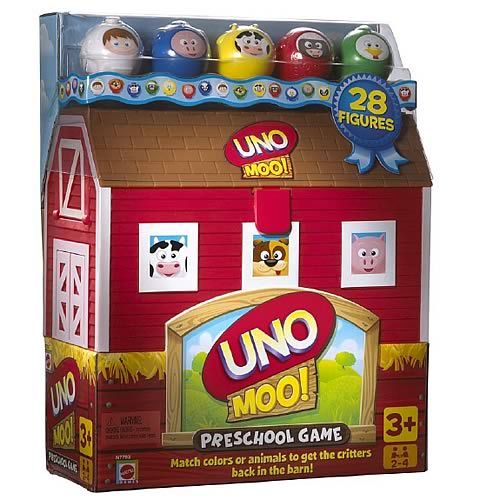 UNO Moo! Preschool Game