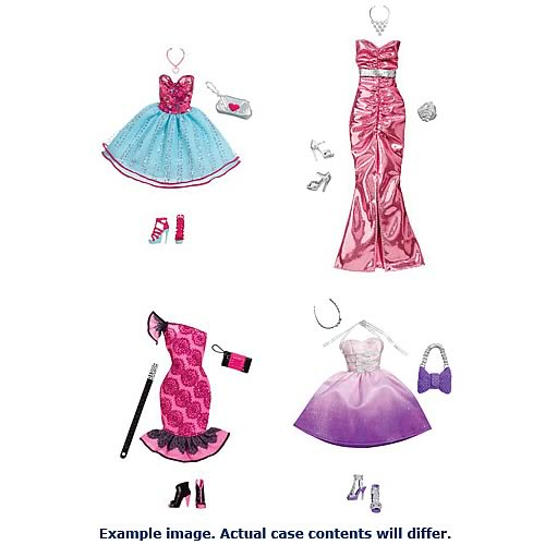 Barbie fashion fairy tale dresses drawing