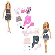 Barbie Doll and Fashion Gift Set Assortment Case