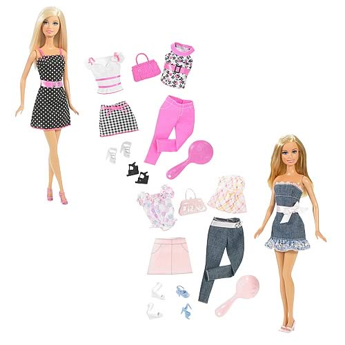 Barbie Fashionista Dolls Set Barbie Doll and Fashion Gift
