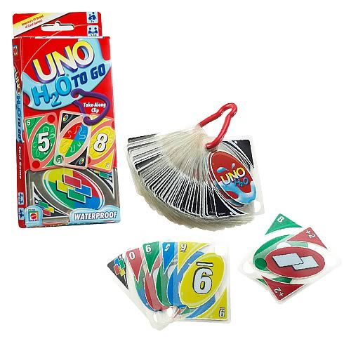 UNO H20 To Go Card Game