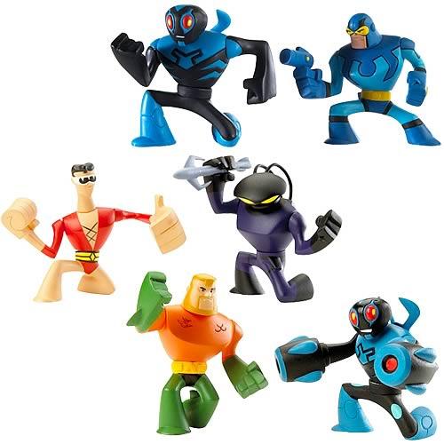 Batman Brave and Bold Action League Figure 2 Pack Case
