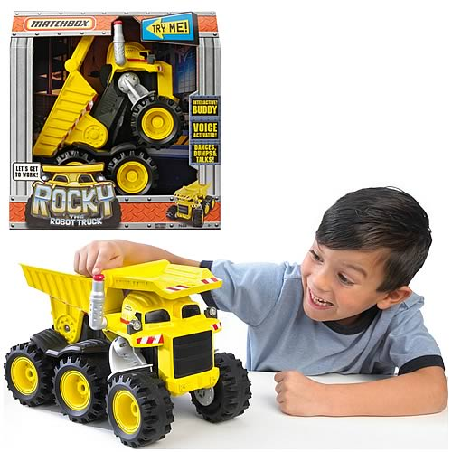 Matchbox Rocky the Robot Truck Vehicle