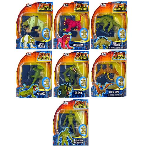 Secret Saturdays Cryptid Figures Wave 2 Case