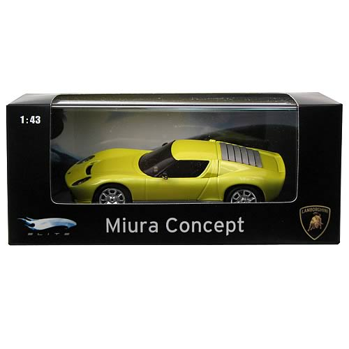 Hot Wheels Lamborghini Miura Concept Car Yellow Car