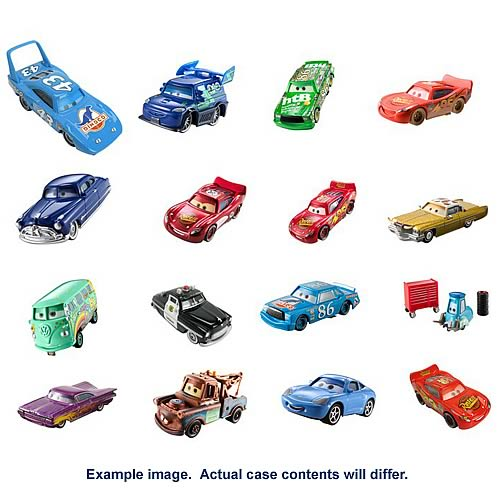 Pixar Cars Character Cars with Eyes Wave 3 Revision 1 Case