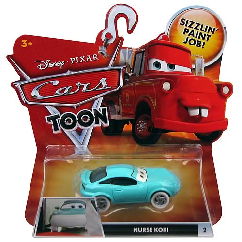 Pixar Cars Toon Character Nurse Kori Vehicle
