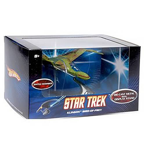 Star Trek Hot Wheels Klingon Bird of Prey Scale Vehicle