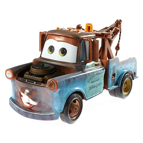 Pixar Cars 1:24 Scale Mater Vehicle