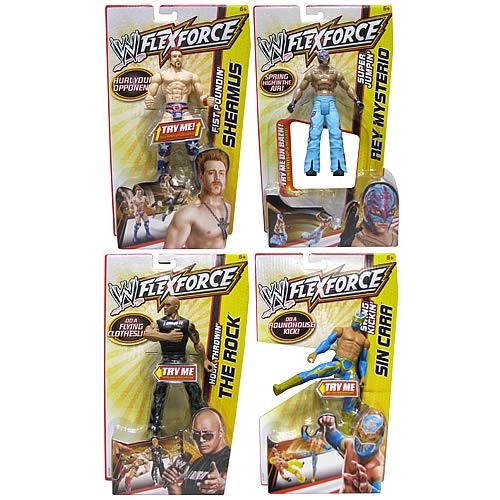 WWE Flexforce 2012 Action Figure Wave 4 Case