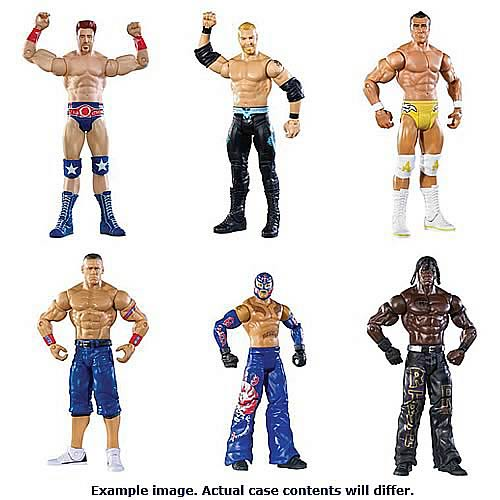 WWE Basic Figure 2012 Wave 23 Rev. 1 Action Figure Case