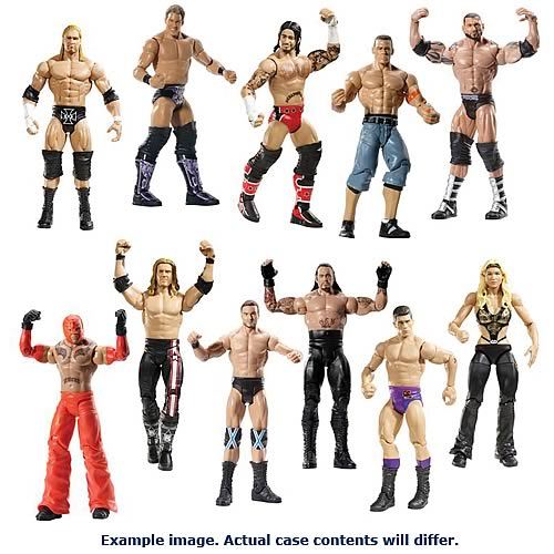 WWE Basic Figure 2012 Wave 25 Rev. 1 Action Figure Case