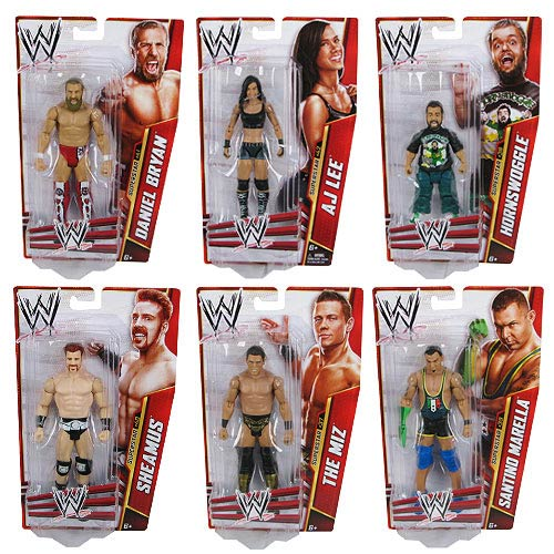 WWE Basic Figure Series 30 Revision 1 Action Figure Case