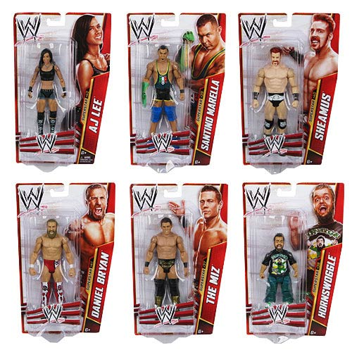 WWE Basic Figure Series 30 Action Figure Case