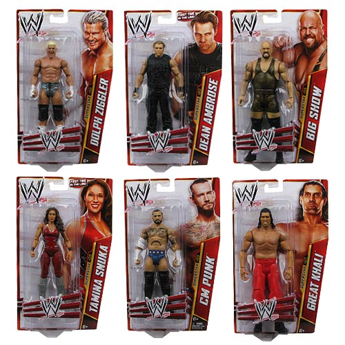 WWE Basic Figure Series 33 Revision 1 Action Figure Case
