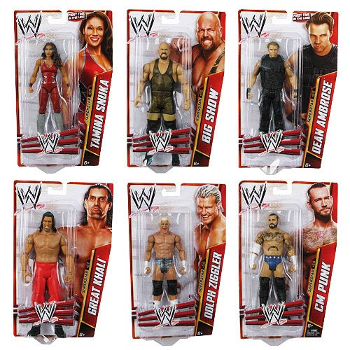 WWE Basic Figure Series 33 Action Figure Case