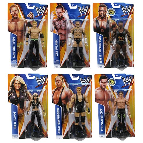 WWE Basic Figure Series 36 Revision 1 Action Figure Case