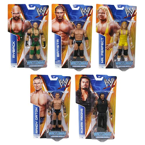 WWE Basic Figure Series 37 Rev. 1 Wrestlemania Heritage Case