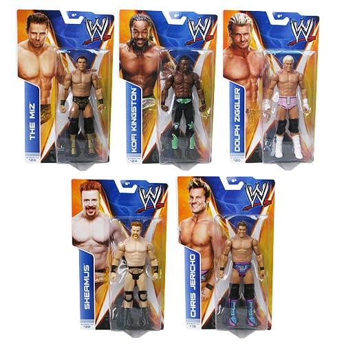 WWE Basic Figure Series 38 Revision 1 Action Figure Case