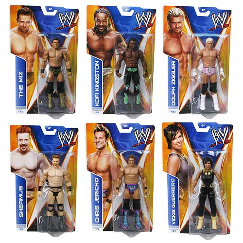 WWE Basic Figure Series 38 Action Figure Case
