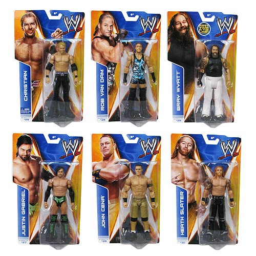 WWE Basic Figure Series 39 Revision 1 Action Figure Case