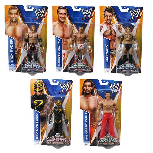 WWE Basic Figure Series 40 Revision 1 Action Figure Case