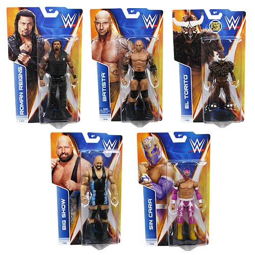 WWE Basic Figure Series 42 Revision 1 Action Figure Case