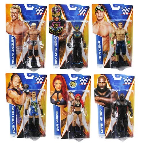 WWE Basic Figure Series 43 Action Figure Case