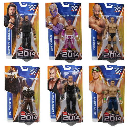 WWE Basic Figure Best of 2014 Action Figure Case