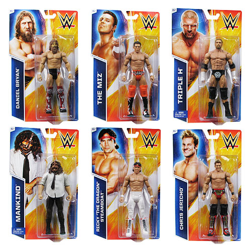 WWE Basic Figure Series 45 Revision 1 Action Figure Case