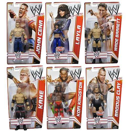 WWE Basic Figure 2012 Wave 15 Action Figure Case