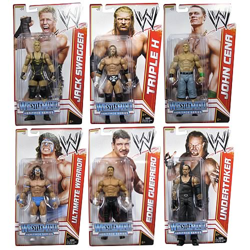 WWE Basic Figure 2012 Wave 16 Action Figure Case