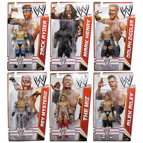 WWE Basic Figure 2012 Wave 17 Action Figure Case
